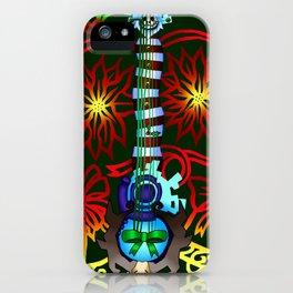 Fusion Keyblade Guitar #197 - Decisive Pumpkin & Dual Disk iPhone Case