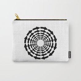 Arrows in a circle Carry-All Pouch