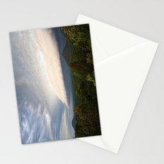 Storm clouds over Australian landscape Stationery Cards