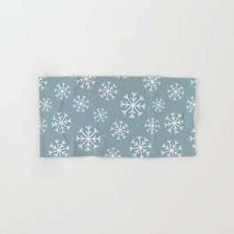 Snow Flakes Winter Hand & Bath Towel