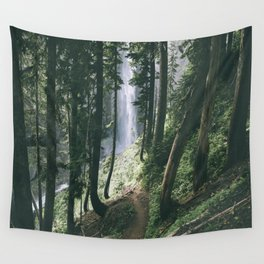 To The Falls Wall Tapestry