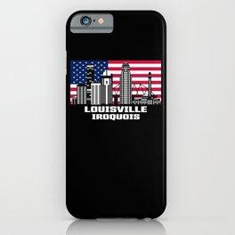 Louisville Iroquois Kentucky Skyline iPhone Case