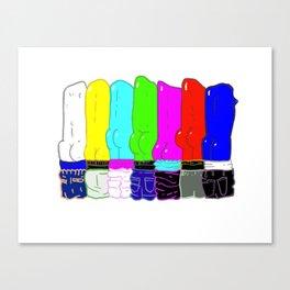 Color Clap Canvas Print