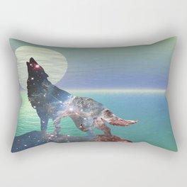 Star Wolf Rectangular Pillow