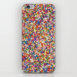 Rainbow Sprinkles iPhone Skin