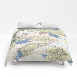 beauty in simple things Comforters