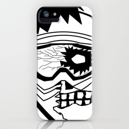 MTB Zombie iPhone Case