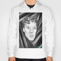 benedict cumberbatch Hoodies featuring Benedict Cumberbatch by Cassandra Moonen