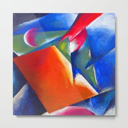 Lyubov Popova Tectonic Painting Metal Print