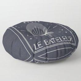 The Magician or Le Bateleur Tarot Floor Pillow