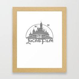 DisneyFilm logo Framed Art Print