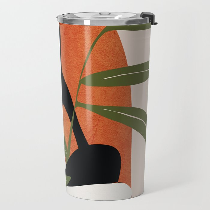 Abstract Female Figure 20 Travel Mug