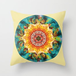 Mandalas from the Heart of Surrender 4 Throw Pillow