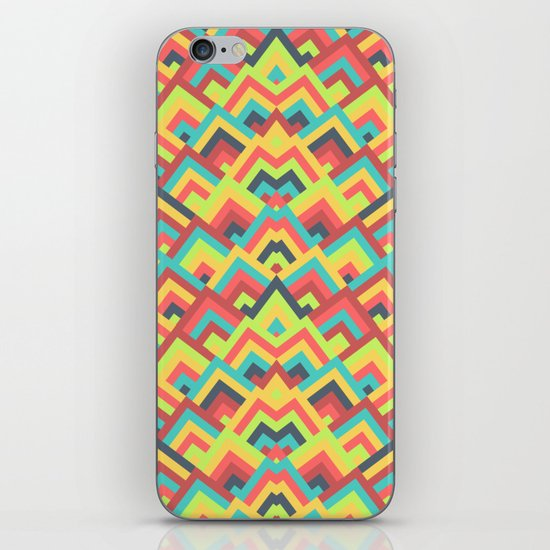 Chevron Colorful Pattern iPhone & iPod Skin