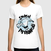 patriarchy T-shirts featuring Smash the Patriarchy  by Maura McGonagle