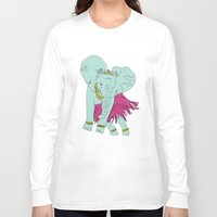 sparkle Long Sleeve T-shirts featuring Sparkle by Dannie Ann