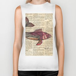 Redfish Biker Tank