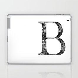 B Monogram Laptop & iPad Skin
