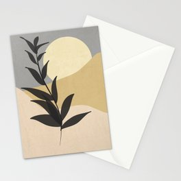 Minimal noire Stationery Cards