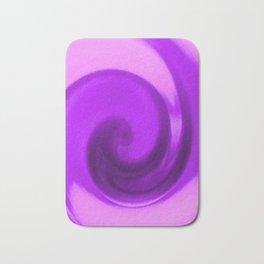 Purple tie dye Bath Mat