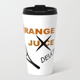 Orange Deuce Travel Mug