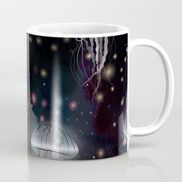 Night Jellyfish Coffee Mug