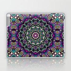 Purple Boho Mandela Pattern Laptop & iPad Skin