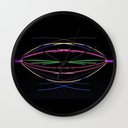 Crossed Wires Wall Clock