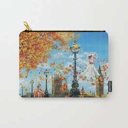 """Mary Poppins painting """"Supercalifragilisticexpialidocious"""" Carry-All Pouch"""