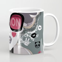LOVE MATCH Girl Portrait Feelings Coffee Mug