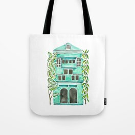 The Grotto – Mint Palette Tote Bag