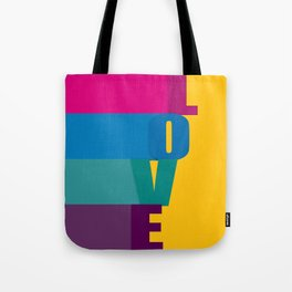 The love is colorful Tote Bag