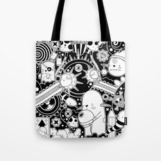 Clutch (Black & White version) Tote Bag