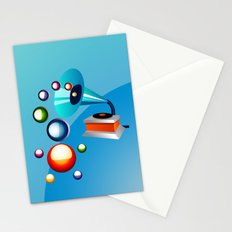 Atomic Music Stationery Cards