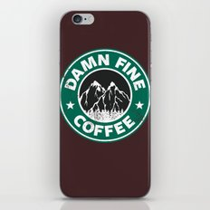 Damn Fine Coffee iPhone & iPod Skin