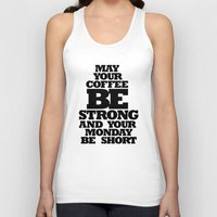 strong Tank Tops featuring STRONG by ALL TYPE _ Marcio Pontes