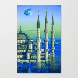 Sultanahmet, Istanbul Turkey 3a Canvas Print