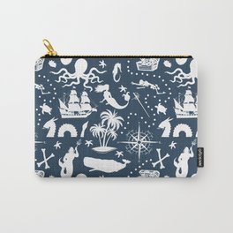 High Seas Adventure on Navy Carry-All Pouch