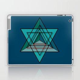 Star Tetrahedron Laptop & iPad Skin