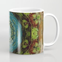 Botanical Pattern, Mandala 1 Coffee Mug