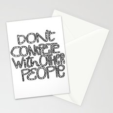 Compete With Yourself Stationery Cards