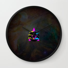 Time Never Stops Wall Clock