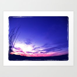 Big Sky Sunset Art Print
