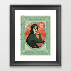 Señora Lavery Framed Art Print