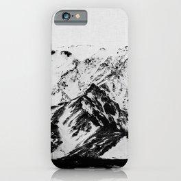 Minimalist Mountains iPhone Case