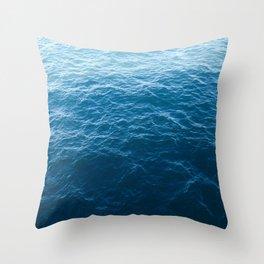 Seas Throw Pillow