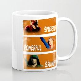 The Speedster, the Powerful, and the Grumpy Coffee Mug