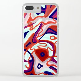 Dangerous Waves Clear iPhone Case