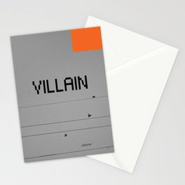 VILLAIN! Stationery Cards