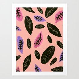 peachyleaf Art Print